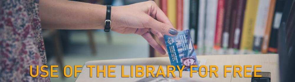 Use of the library for free